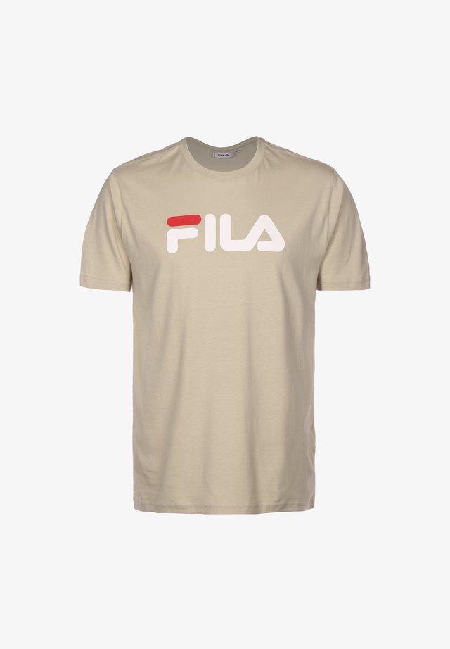 T-shirt print - a605 oxford tan