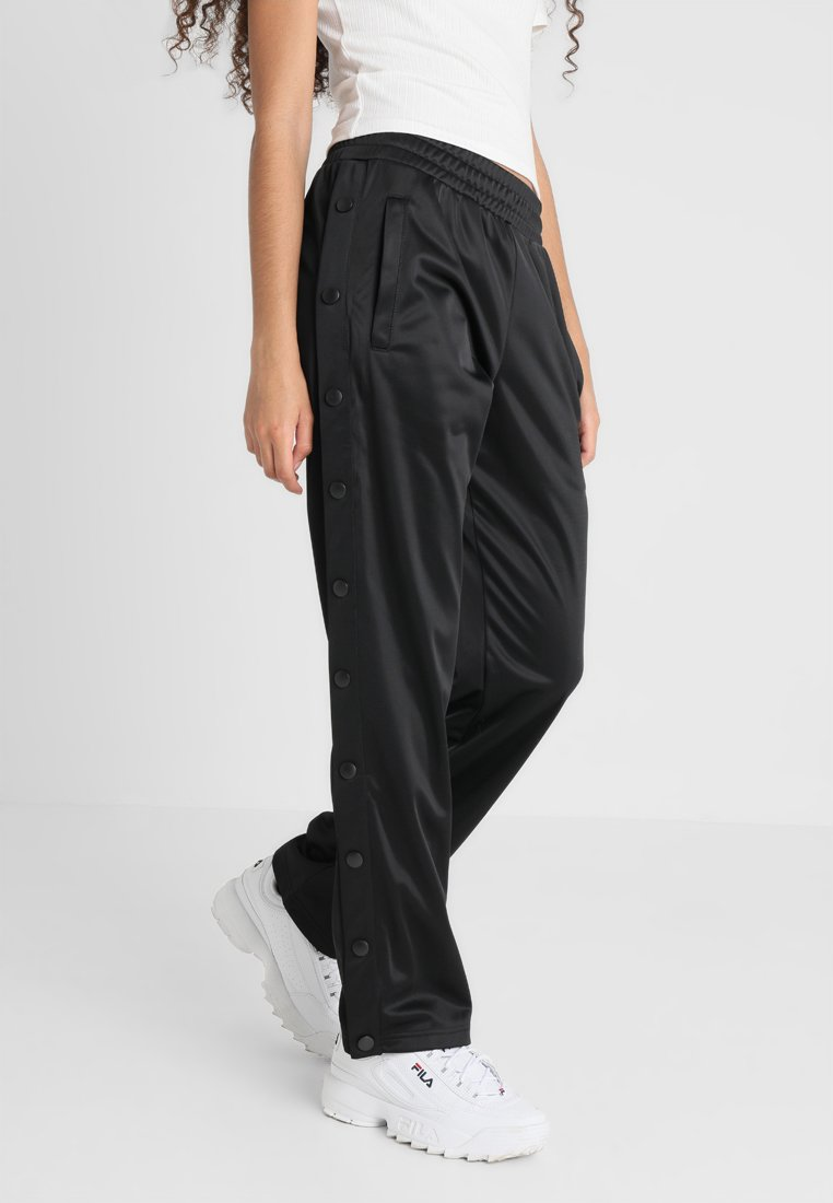 Fila - GERALYN BUTTON PANTS - Tracksuit bottoms - black