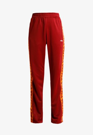 THORA TRACK PANTS - Trainingsbroek - merlot