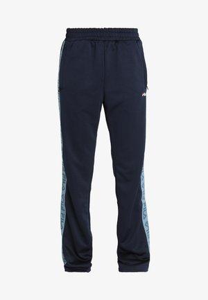 THORA TRACK PANTS - Spodnie treningowe - black iris