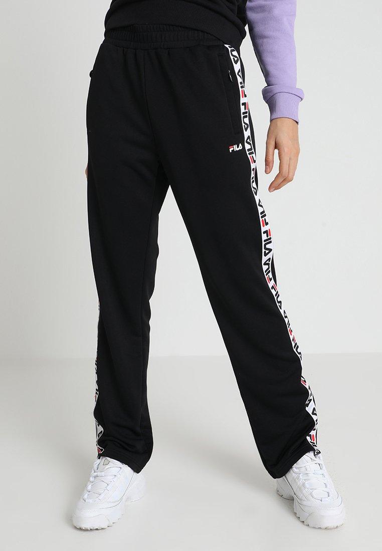 Fila - THORA TRACK PANTS - Verryttelyhousut - black