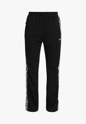 THORA TRACK PANTS - Träningsbyxor - black