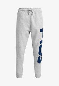 Fila - PURE BASIC PANTS - Tracksuit bottoms - light grey melange - 4