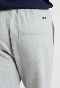 Fila - PURE BASIC PANTS - Tracksuit bottoms - light grey melange - 3