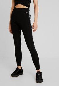 Fila - PHILINE - Leggings - Trousers - black - 0