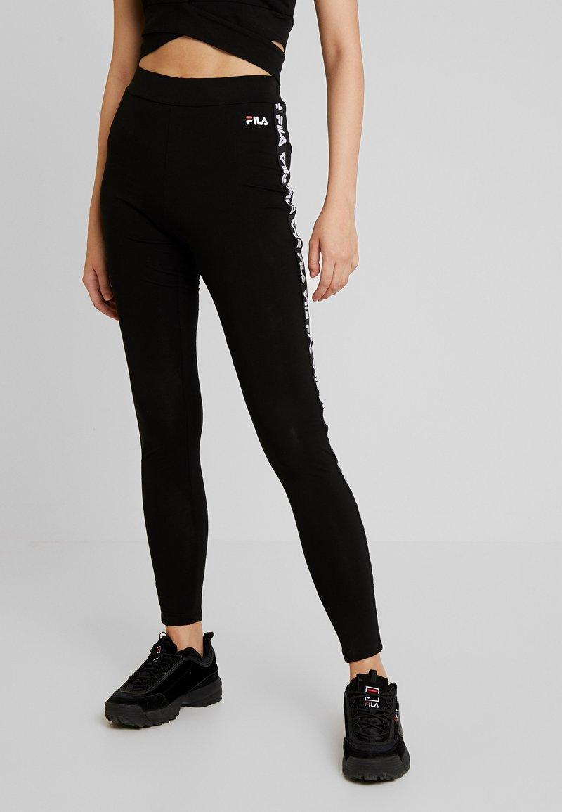Fila - PHILINE - Leggings - Trousers - black