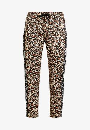 PANIZ CROPPED PANTS - Teplákové kalhoty - brown
