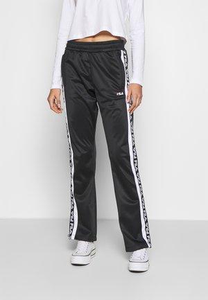 TAO - Spodnie treningowe - black/bright white