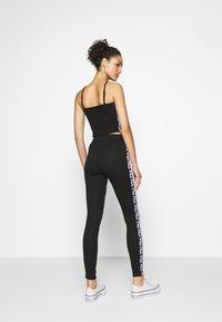 Fila - TASYA - Leggings - Trousers - black/bright white - 2