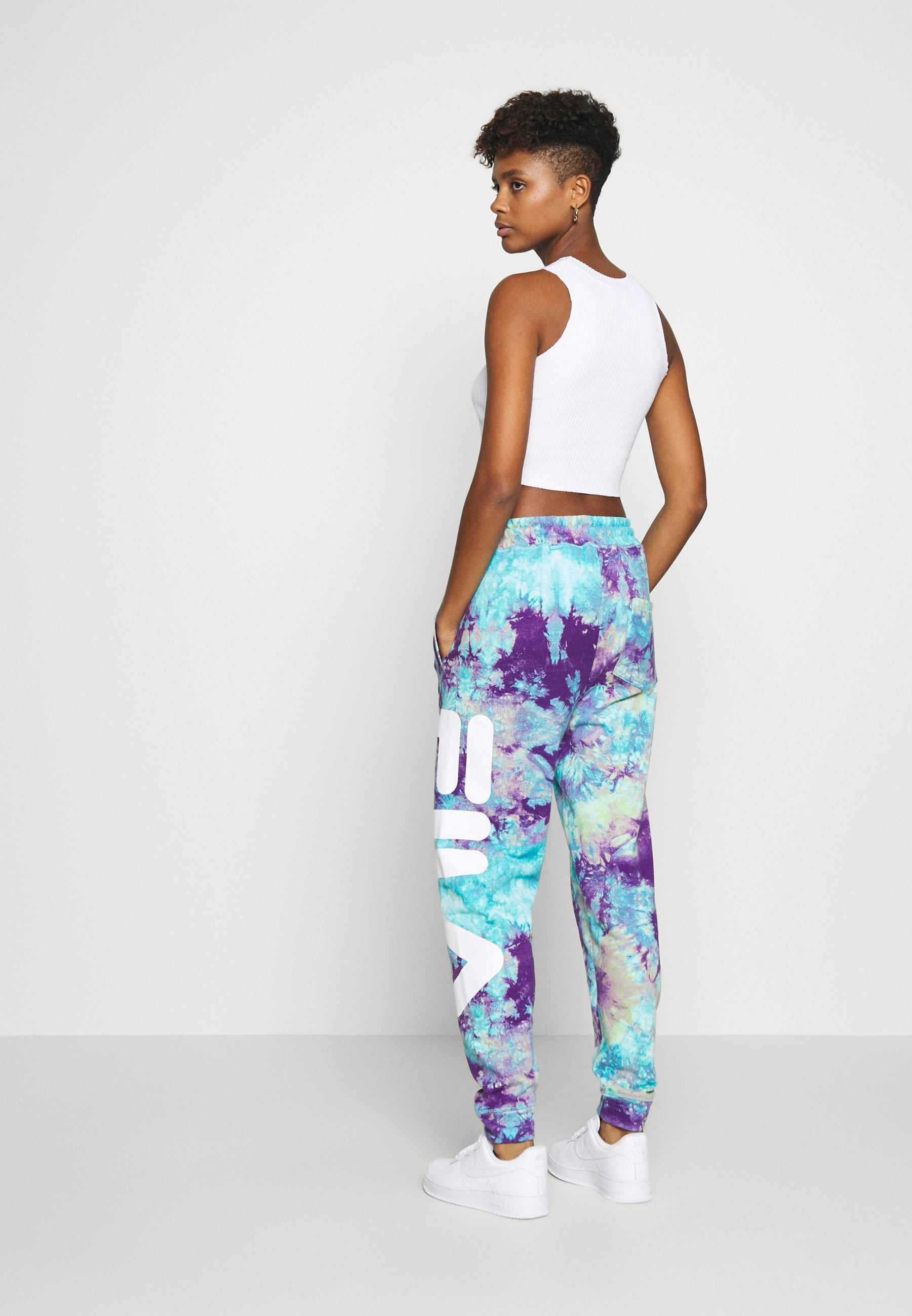 Fila PURE - Spodnie treningowe - lilac