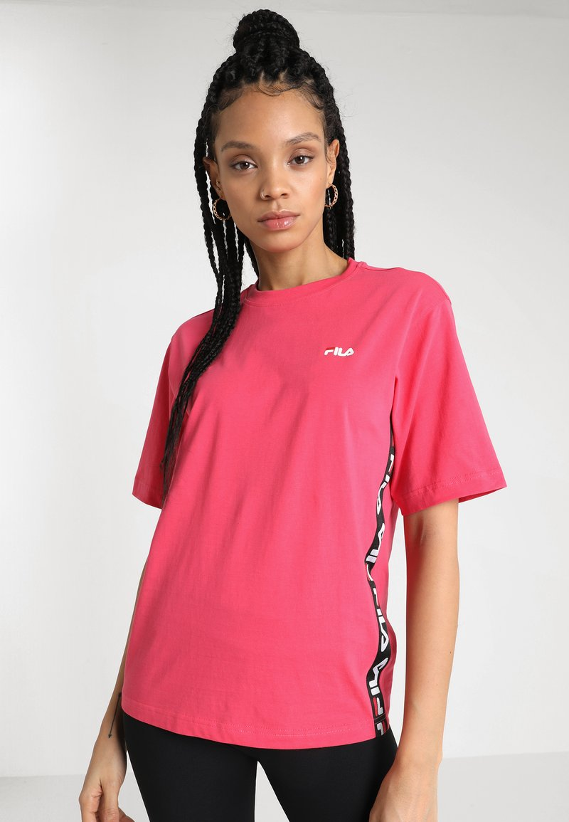 Fila - TALITA TEE - Print T-shirt - honeysuckle