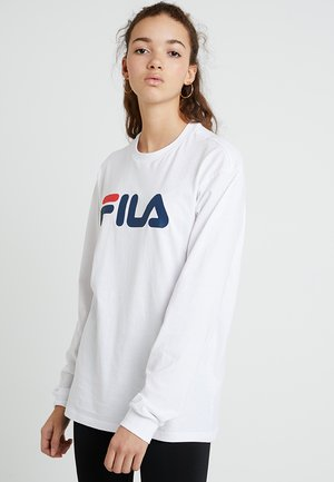 PURE LONG SLEEVE - Long sleeved top - bright white