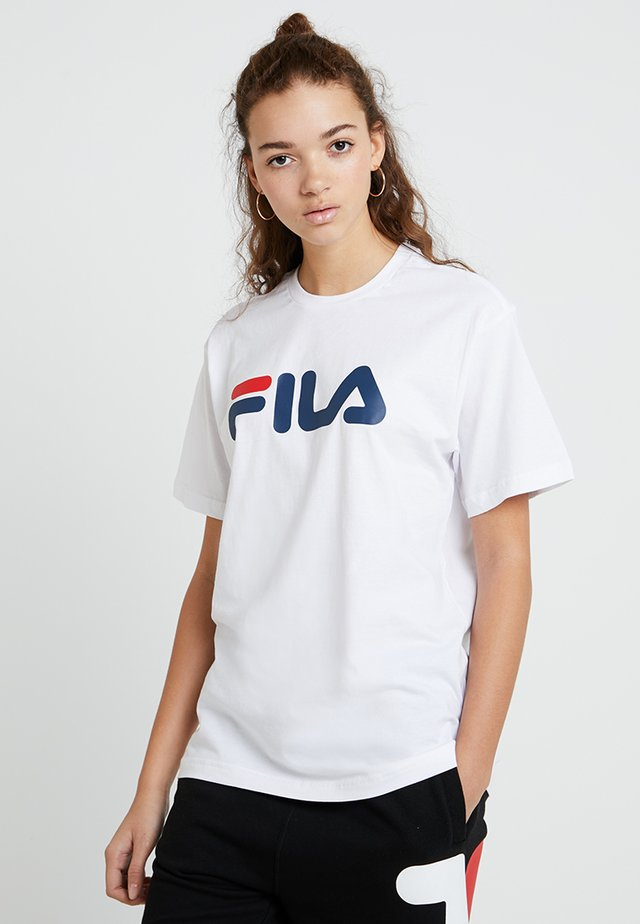 PURE SHORT SLEEVE - T-shirt print - bright white