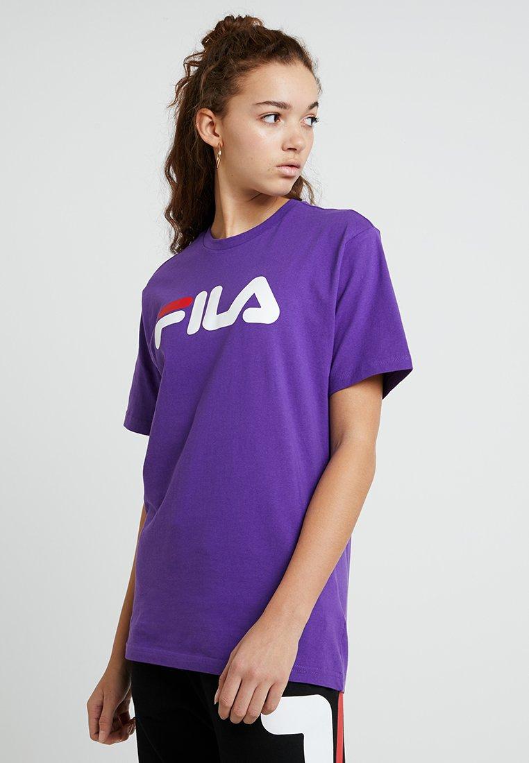 Fila - PURE SHORT SLEEVE - Print T-shirt - tillandsia purple