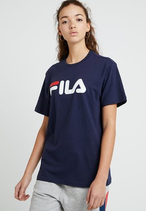 PURE SHORT SLEEVE - Printtipaita - black iris