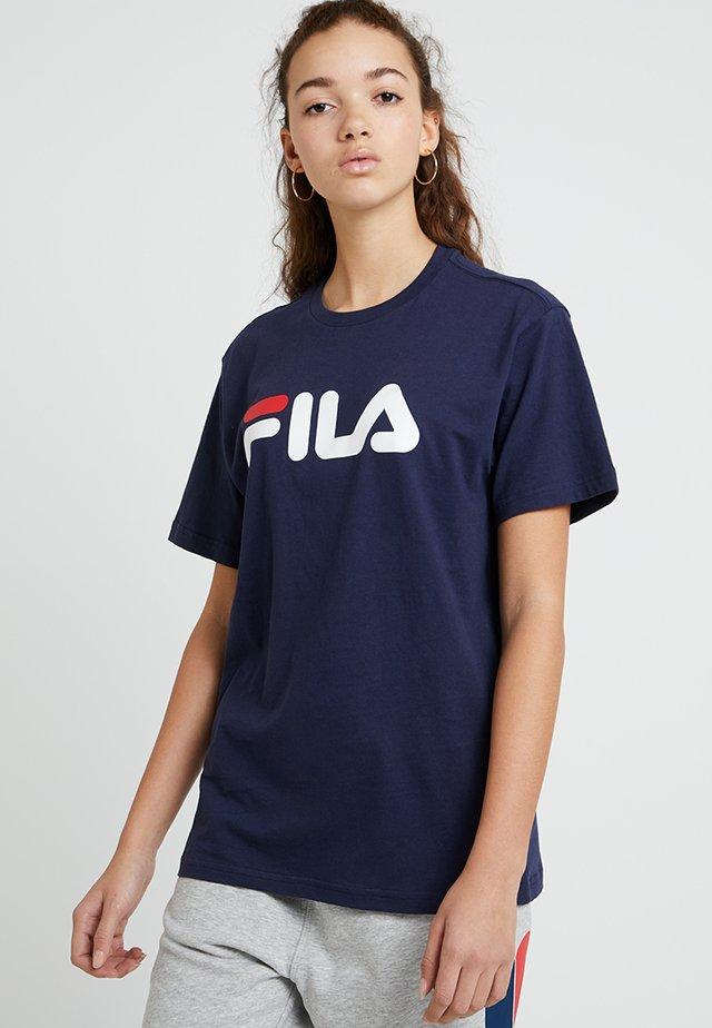 PURE SHORT SLEEVE - T-shirts print - black iris