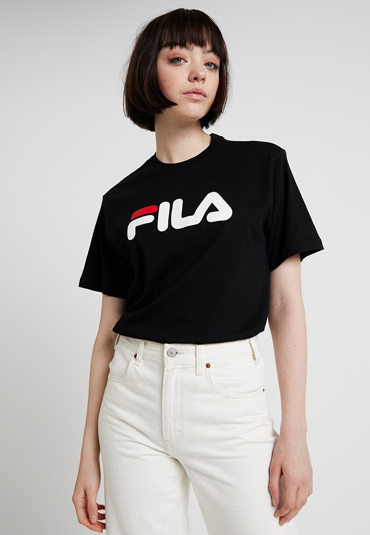 Fila - PURE SHORT SLEEVE - Camiseta estampada - black
