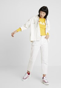 Fila - CROPPED LONG SLEEVED - Long sleeved top - citrus - 1