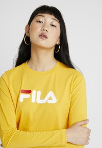 Fila - CROPPED LONG SLEEVED - Long sleeved top - citrus - 3
