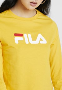 Fila - CROPPED LONG SLEEVED - Long sleeved top - citrus - 5