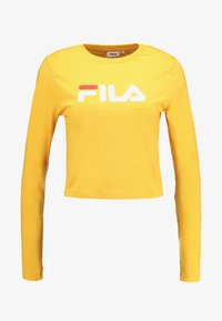 Fila - CROPPED LONG SLEEVED - Long sleeved top - citrus - 4