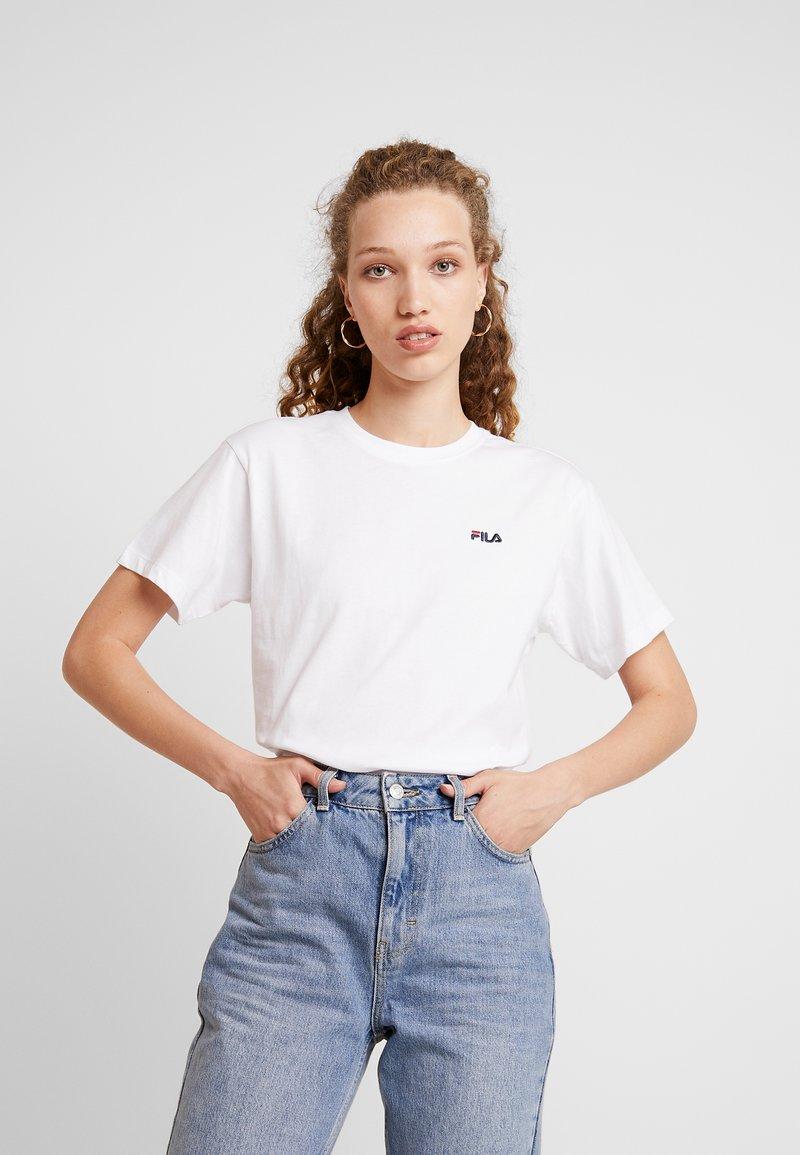 Fila - EARA TEE - Camiseta básica - bright white