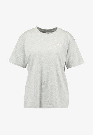 EARA TEE - T-shirts - light grey melange bros