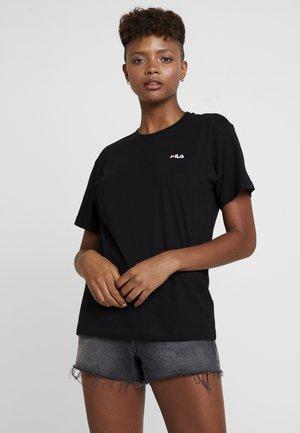 EARA TEE - Basic T-shirt - black