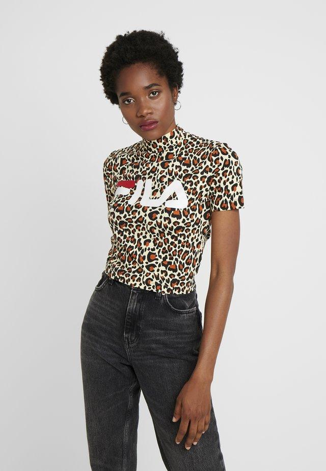 EVERY - Print T-shirt - brown