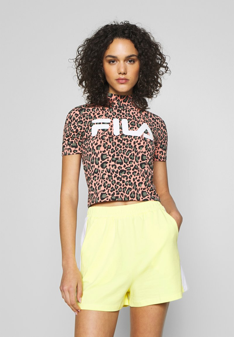 Fila - EVERY - Print T-shirt - lobster bisque