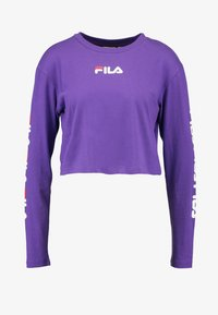 Fila - REVA LONG SLEEVED CROPPED - Top s dlouhým rukávem - tillandsia purple - 3