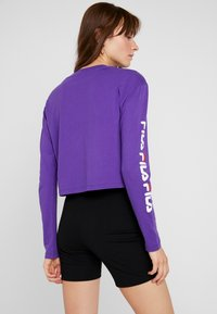 Fila - REVA LONG SLEEVED CROPPED - Top s dlouhým rukávem - tillandsia purple - 2