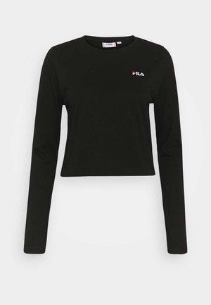 EAVEN - Langærmede T-shirts - black