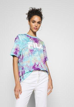 PURE  - Camiseta estampada - lilac batik allover