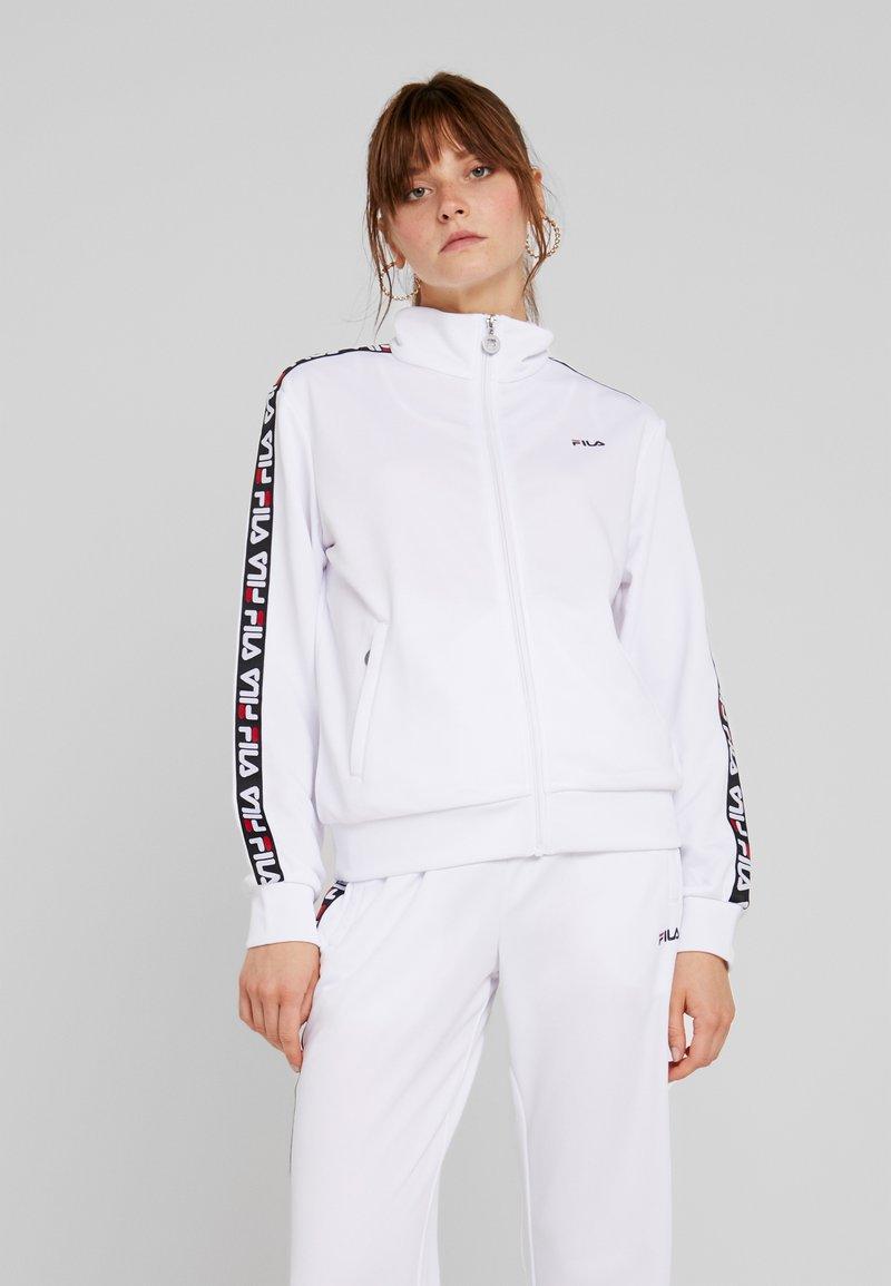 Fila - TALLI TRACK JACKET - Trainingsjacke - bright white
