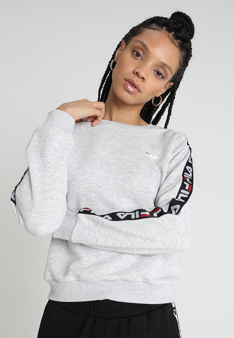Fila - TIVKA CREW  - Sweatshirt - light grey melange