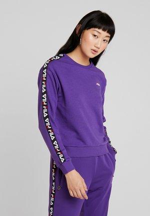 TIVKA CREW  - Felpa - tillandsia purple