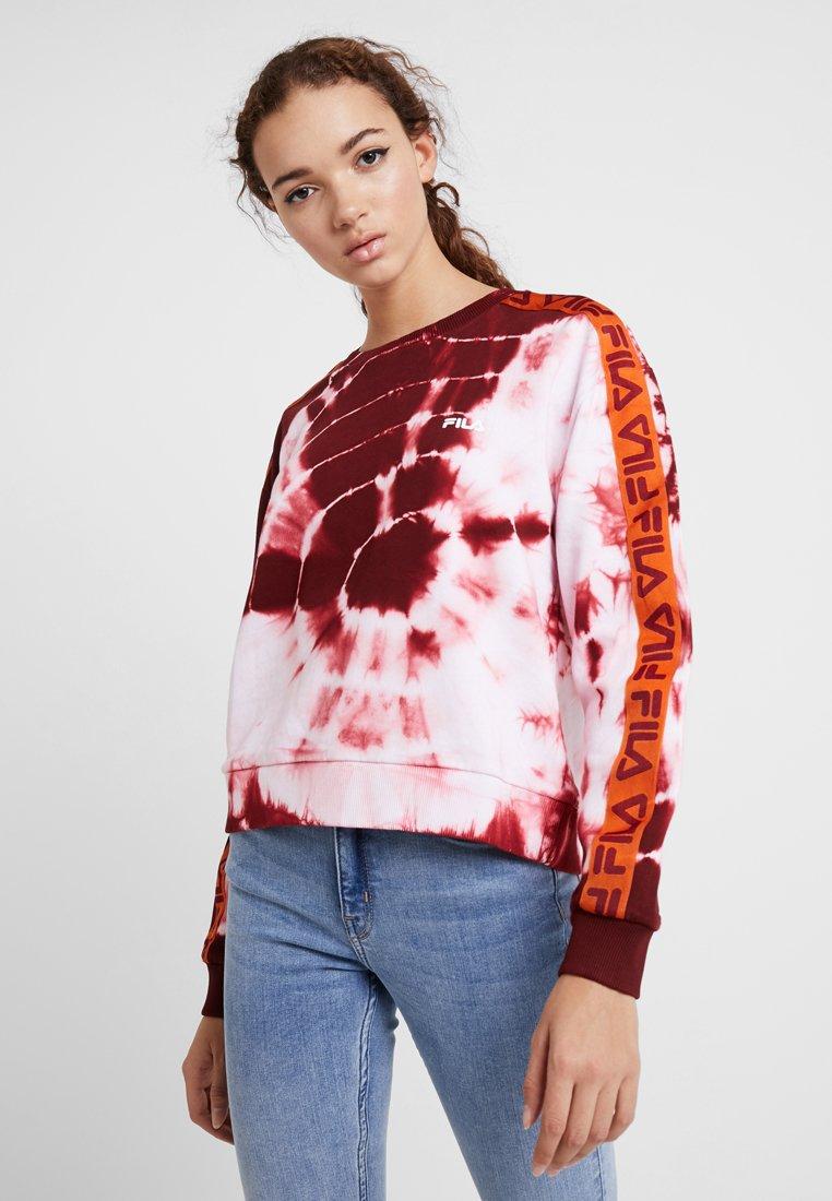 Fila - TAMARR CREW - Mikina - glaxy batik