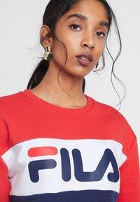 Fila - LEAH CREW - Sweatshirts - dark blue/true red/bright white - 3