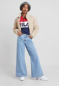 Fila - LEAH CREW - Sweatshirts - dark blue/true red/bright white - 1
