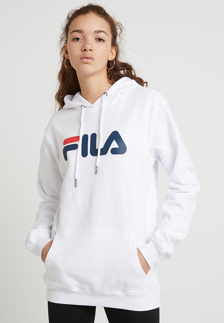 Fila - PURE HOODY - Jersey con capucha - bright white