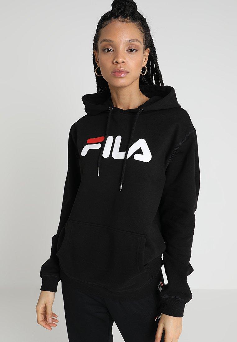 Fila - PURE HOODY - Luvtröja - black