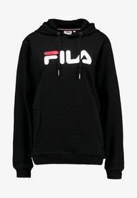 Fila - PURE HOODY - Luvtröja - black - 4
