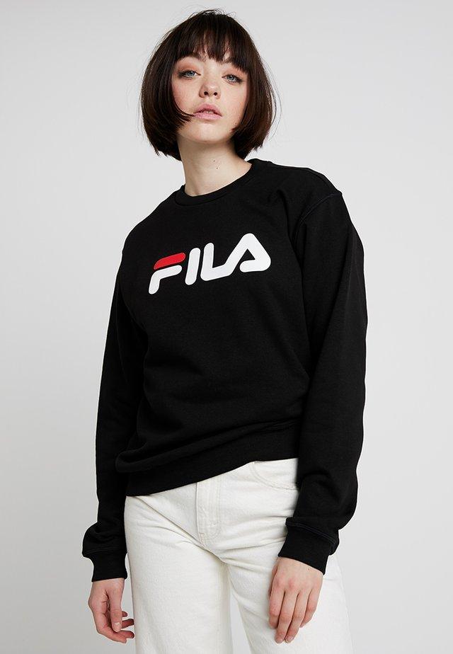 PURE CREW - Sweater - black