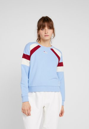 EIBHLEANN CREW - Collegepaita - vista blue/rhubarb/whitecap gray