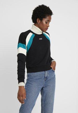 EIBHLEANN CREW - Sweatshirt - black/whitecap