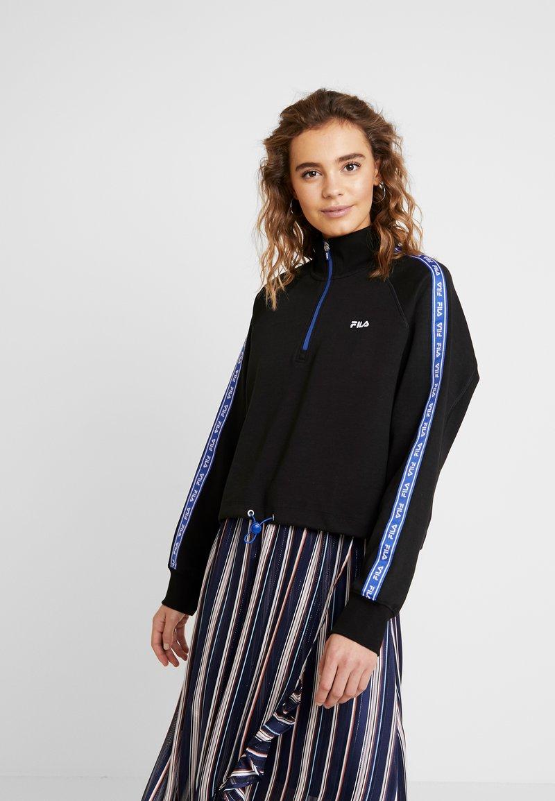 Fila - URA HALF ZIP  - Sweatshirt - black
