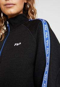 Fila - URA HALF ZIP  - Sweatshirt - black - 3