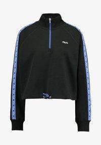 Fila - URA HALF ZIP  - Sweatshirt - black - 4