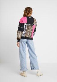 Fila - PAPINA CREW  - Sweatshirt - black/pink/yarrow - 2
